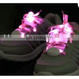 Wisdom Victory 2015 Flashing Nylon LED Shoelaces Light Up Glow Waterproof Shoestring for Disco Party