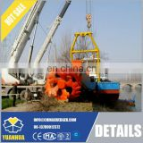 Electric cutter suction dredger abrasive and corrosive resistant slurry pump