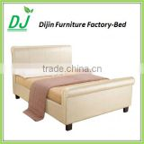 Modern Style Double Bed Design Fancy Shape Bedroom For Saving Space Bed Design Furniture