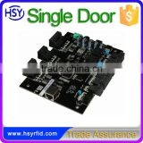 10000 cards swipe card software system single door access control board with web server data management