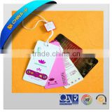 clear plastic luggage tag