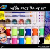 Face paint for football fans, make up for party, FDA, glitter face paint, glow in the dark                                                                         Quality Choice