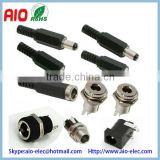 5.5/2.5mm 5.5/2.1mm 3.5/1.3mm 2.35/0.7mm DC Power Plug Male Socket Female Inline Chassis Metal Plastic