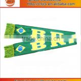 World Cup Brazil football satin scarf