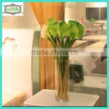 Hot sell 63cm real touch calla lily beautiful silicone flowers artificial