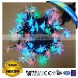 Black wire CE RoHS rgb holiday string light