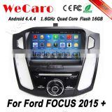 Wecaro WC-FF8088 Android 4.4.4 car dvd player HD for ford focus 3 android 2015 Steering Wheel Control                                                                         Quality Choice