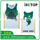 Professional high quality classic mens 100% Polyester digital sublimated Basketball jersey