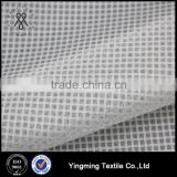 Whole Sale 20D*150D 100% Polyester Jacquard Check Pattern Organza Fabric for Women's Fashion Dresses/Blouses/Shirts/Skirts