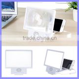 3D Audio Magnifier Mobile Phone Screen Amplifier With Speaker For iPhone 6 Plus iPad Tablet Cell Phone