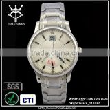 Good quality latest men watch stainless steel case and bands sapphire crystal diamond dial