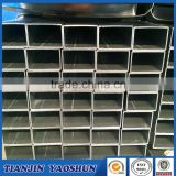 Galvanized pipe rectangular hollow section for scaffolding / green house / greenhouse YAOSHUN