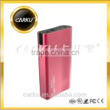Carku F004 mobile phone power bank hi speed power bank 6000mah mobile charger power bank