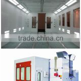 electric heating painting booths auto spray painting chamber