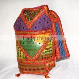 Shoulder Bags India Online Wholesale Handbags from India,Tribal Ethnic Cotton Patchwork Bag
