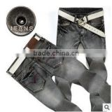 NEW casual GREY JEANS FOR MEN JEAN PANTS MENS DENIM WEAR MEN'S CLOTHING FASHIONS
