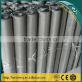 Guangzhou Factory High-Temperature Resistant Plain Woven Stainless Steel Wire Mesh in rolls