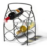 Bar Neko 6 Bottle Wine Display Rack/Bottle Stand / Steel Wine Display