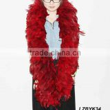 Full Fluffy coque feather Boa LZBYK34