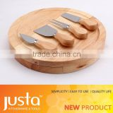 wood handle Cheese slicer set cheese grater with wood gift box