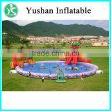 Inflatable Water Pool Slide inflatable amusement park