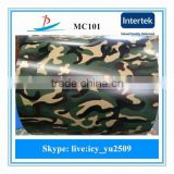 MC101design pre-painted galvanized steel coil with high zinc coating/camouflage design ppgi used for the army made in China