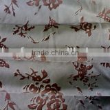 woven twill burnt-out velveteen fabric for sofa cover cloth