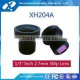 2016 hot china top ten selling products super wide angle m12 1/2.7 inch 2.8mm automotive cctv board lens