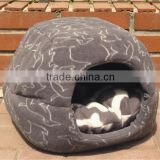 Pet folding dog soft cozy house dog bed dog sofa canine bed dog cozy nest with Detachable cushion