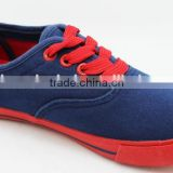 WHOLESALE NEW DESIGN RED SOLE CANVAS CHILDREN SHOES GIRL