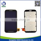 Original LCD Replacements for Moto E,LCD Screen Digitizer Assembly with Frame for moto E
