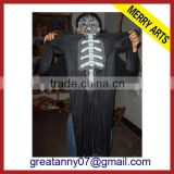 china black japanese devil cosplay pirate costume for men