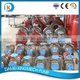 API610 Horizontal Centrifugal foot mounted single stage for sea water desalination plants