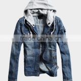 2016 wholesale mens motorcycle jeans jacket with waterproof windproof functoin