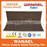 Shingle Wanael stone coated metal roof tile/natural anti-UV colored roofing granules/best selling products in africa