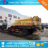 Promotion Multifunction Combined Suction and Jetting Sewage Cleaner Truck 4x2 High pressure Cleaning truck