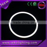 Led cob angel eyes lights,new arrival universal 60mm-140mm cob halo ring with white cover