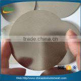 Alibaba China etched aeropress coffee filter disk / stainless steel aeropress coffee filter disc
