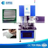 Keyland Laser Machine 20W Fiber Laser Scribing Cutting Solar Cell with Vacuum Table
