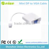 Mini displayport to VGA adapter Cable for Apple Macbook PC