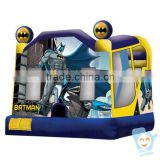 MOQ 1pc 0.55mm pvc tarpaulin inflatable batman jump bounce house                                                                         Quality Choice