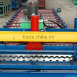 color steel glazed tile roll forming machine/ color glazed steel tile roll forming machine