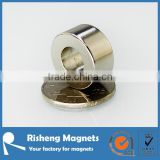 radial magnetization neodymium magnet ring with NiCuNi coating