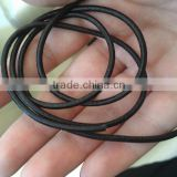 black leather cords in various sizes for jewelry designers, shoe makers, kids crafts, gift wrapping, journal makers, leathercord
