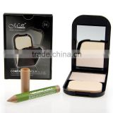 MENOW fashion compact powder case Makeup Professional Beauty Cosmetics Face Care Concealer Makeup #MN2401