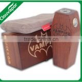 Clouvapor Vampire Mod Box,Wood Full Mechanical Box Mod,Best Wooden Coffin Shape Vapor Mod Box