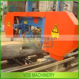 new type portable band sawmill/band saw mill machine for wood