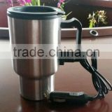 450ml s/s electric heated car used travel mug