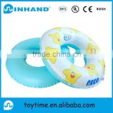 EN71 pvc inflatable baby swimming ring float , customised swim tube with logo printing