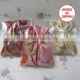 Various types of pouch-type scent bags for car air freshener, organic incense, scented sachet